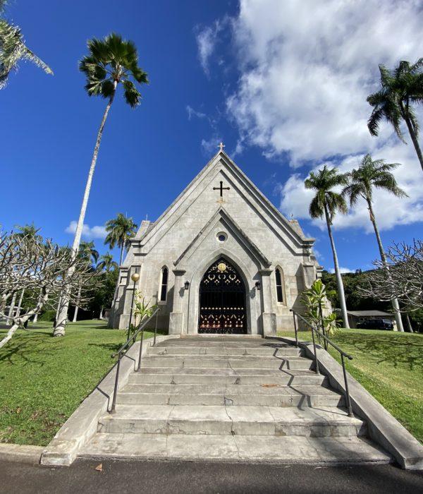 ハワイの王室が眠る霊廟
